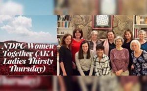 NDPC Women Together - Ladies Thirsty Thursday