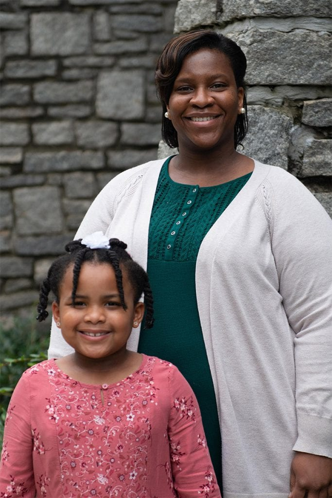 Kendra Peebles (and daughter, Adora), Ministry Fellow